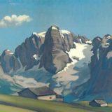 "Ottorino Garosio - ""Paesaggio alpino"""
